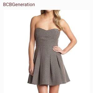 BCBGeneration- Nectar Strapless Dress